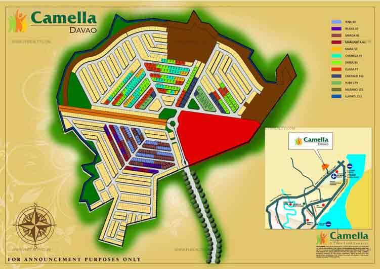 Camella Davao - Site Development Plan