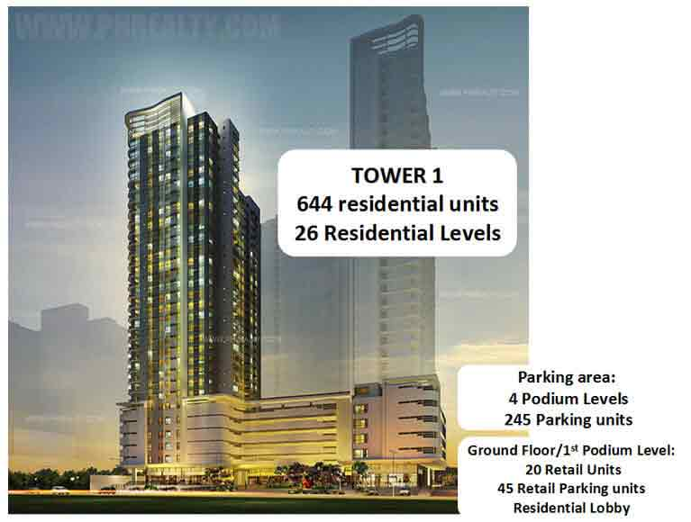 Avida Towers Asten - Building Plan