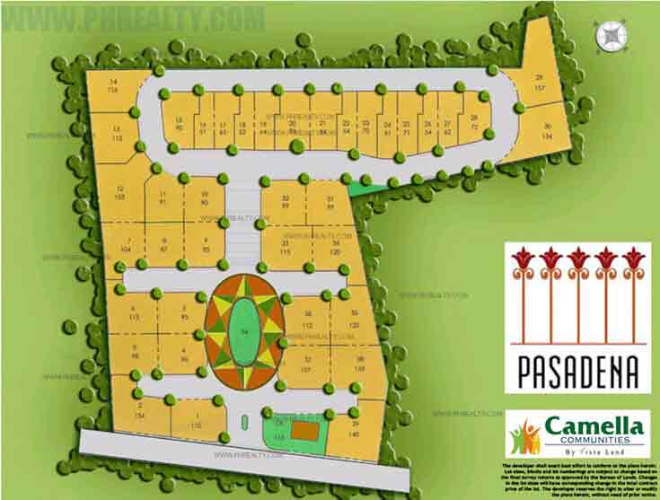 Camella Pasadena  - Site Development Plan
