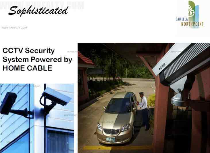 Camella North Point - 24/7 Security