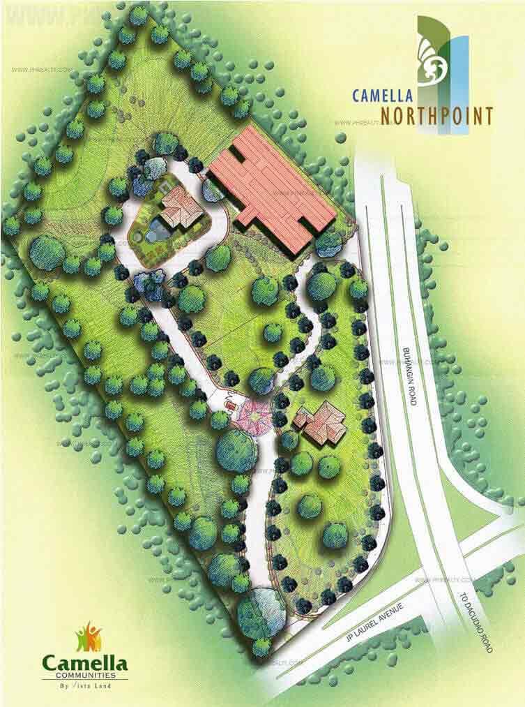 Camella North Point - Site Development Plan