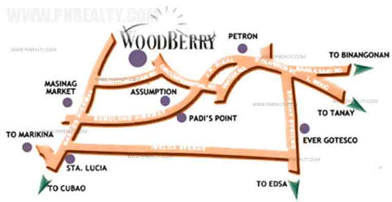 Terraces at Woodberry - Location & Vicinity