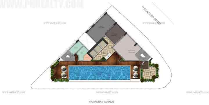 Vista Pointe - Amenity Floor Layout