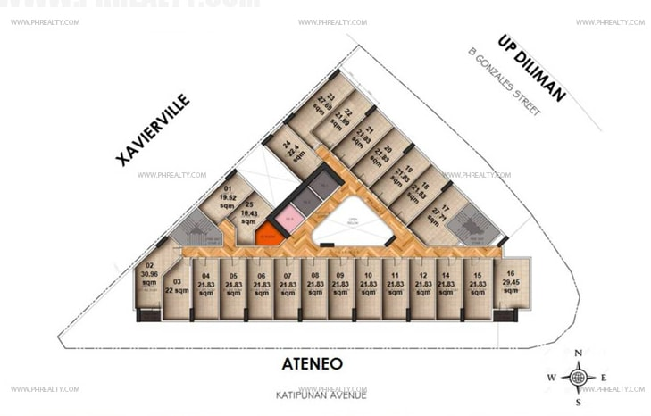 Vista Pointe - Residential Floor Layout