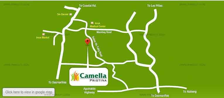 Camella Pristina - Location & Vicinity
