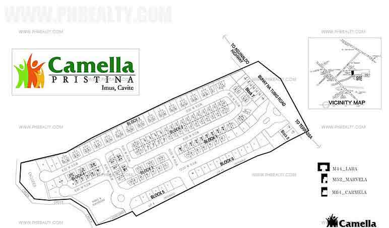 Camella Pristina - Site Development Plan