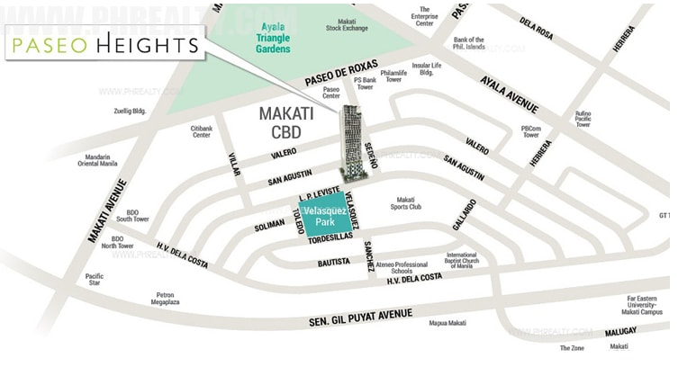 Paseo Heights - Location & Vicinity