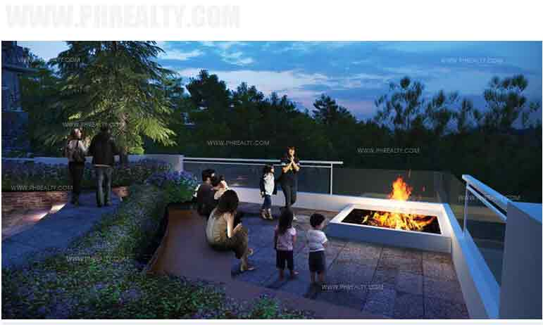 Outlook Ridge Residences - Fire PIT (Mid-Deck)