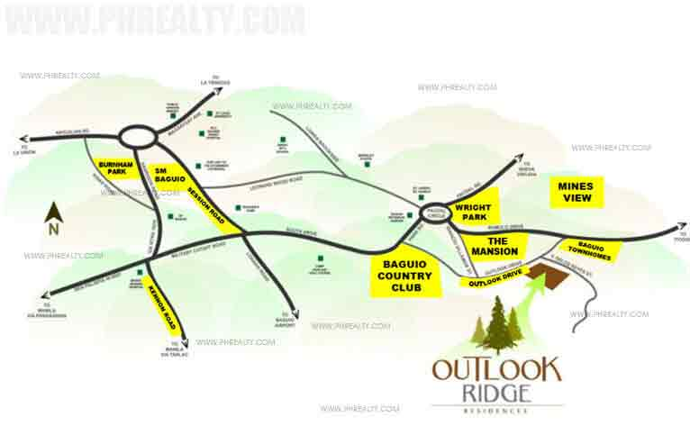 Outlook Ridge Residences - Location & Vicinity