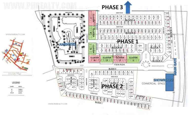 Pacific Residences Queen Townhouses - Site Development Plan