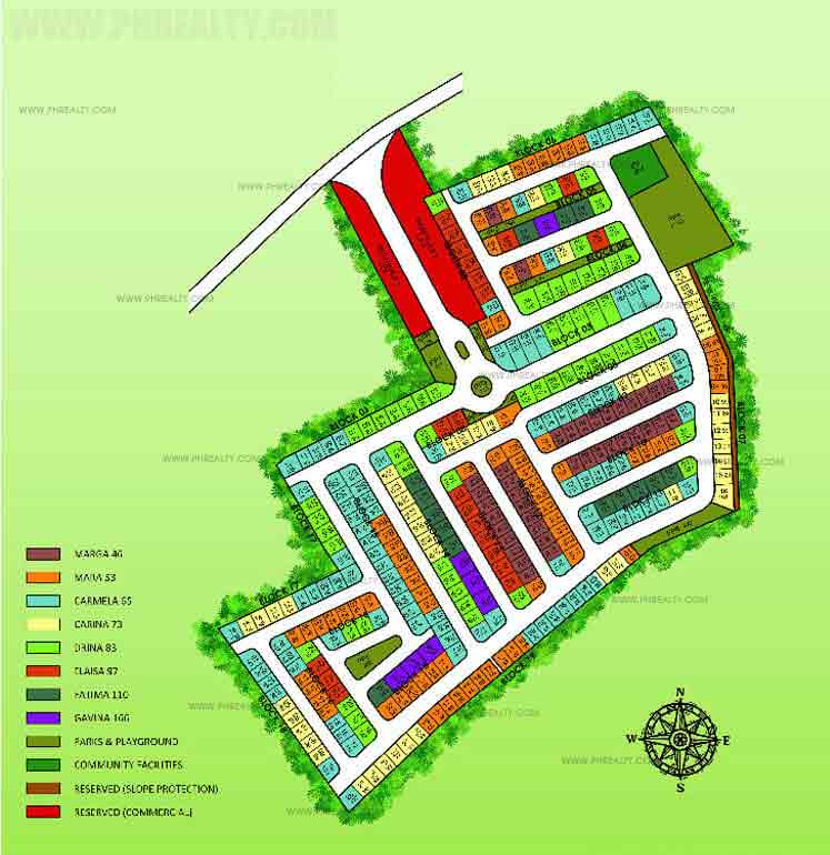 Site plan cam gay