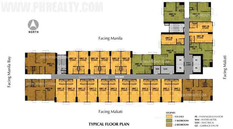Avida Towers Intima - Floor Plans