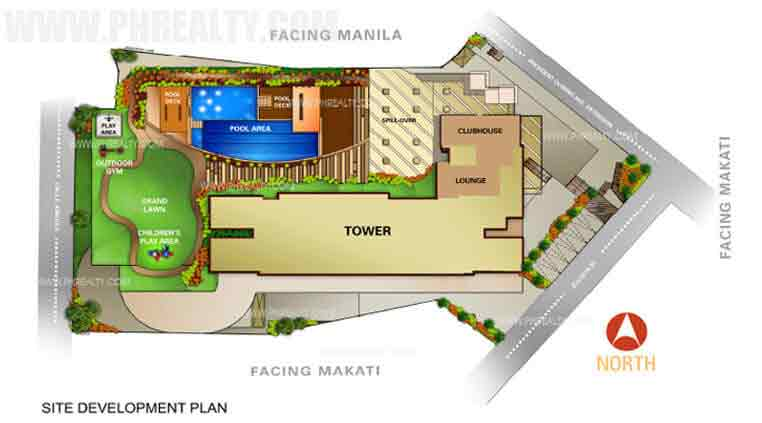 Avida Towers Intima -  Site Development Plan