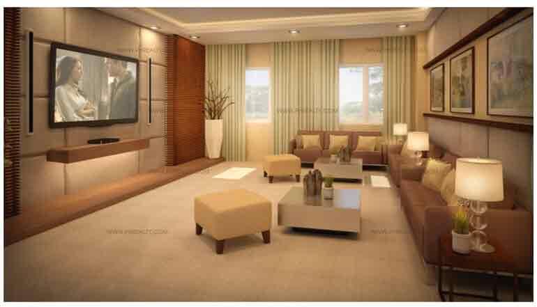 One Castilla Place - Entertainment Room