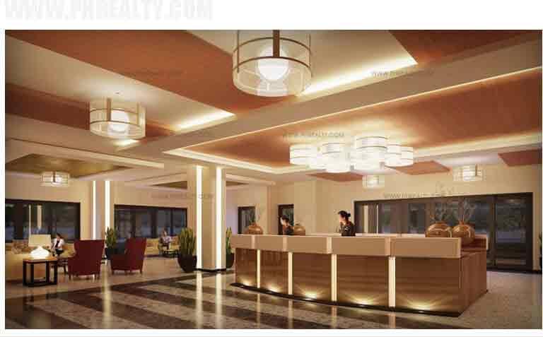 One Castilla Place - Reception Lobby