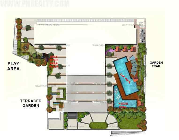 One Castilla Place - Site Development Plan