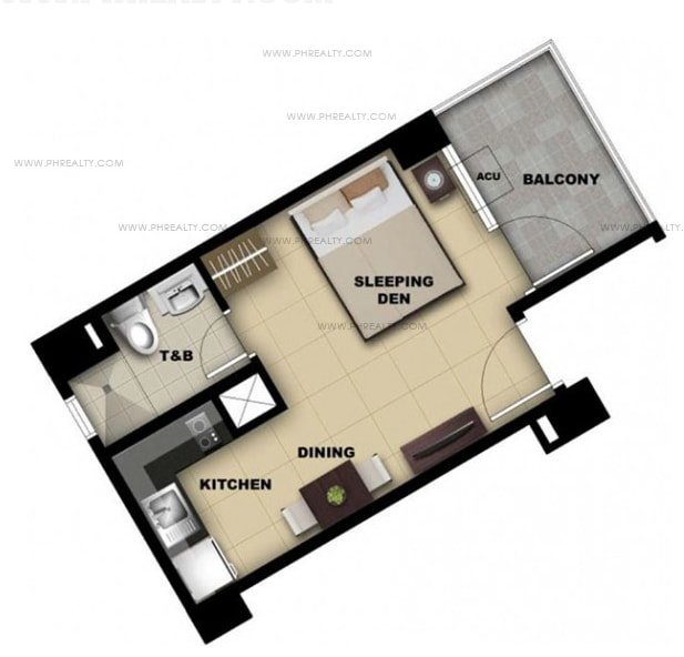 One Madison Place Luxury Residence - Studio Unit A