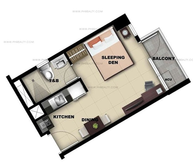 One Madison Place Luxury Residence - Studio Unit B