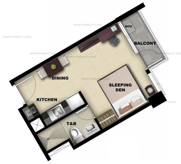 One Madison Place Luxury Residence - Studio Unit C, D, E, F, G