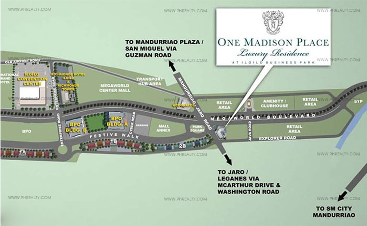 One Madison Place Luxury Residence - Location & Vicinity