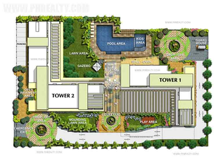 Avida Towers Makati West -  Site Development Plan
