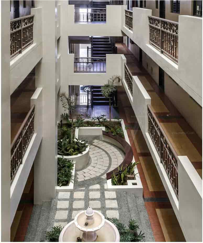 Maricielo Villas - Landscaped Atriums