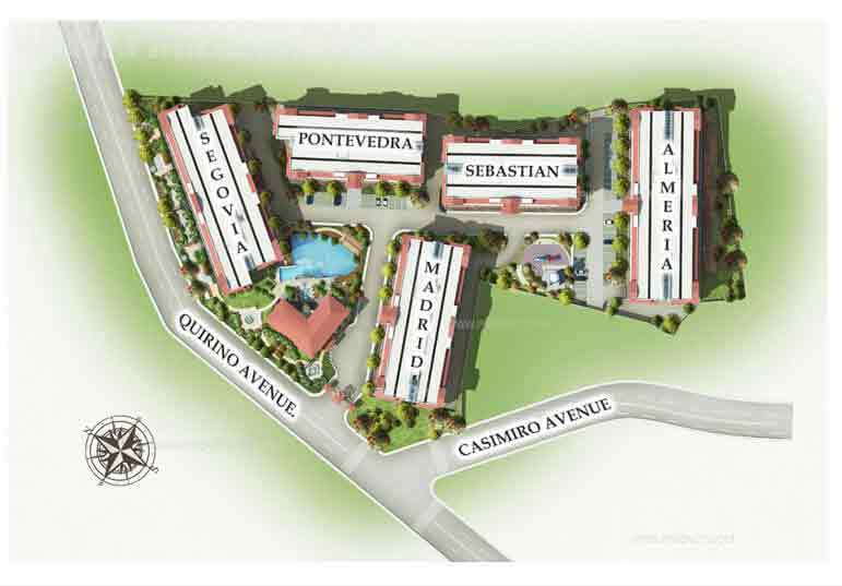 Maricielo Villas - Site Development Plan