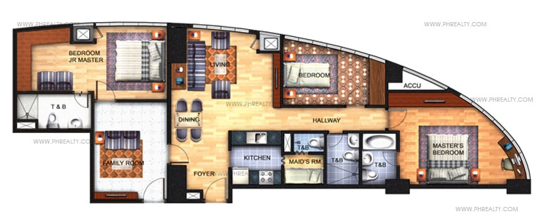 Avant at The Fort - 3 Bedroom Unit