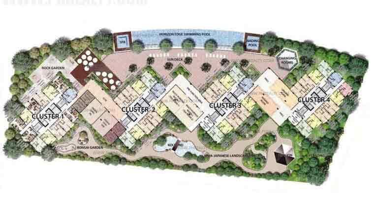 8 Newtown Boulevard - Amenity Deck Plan