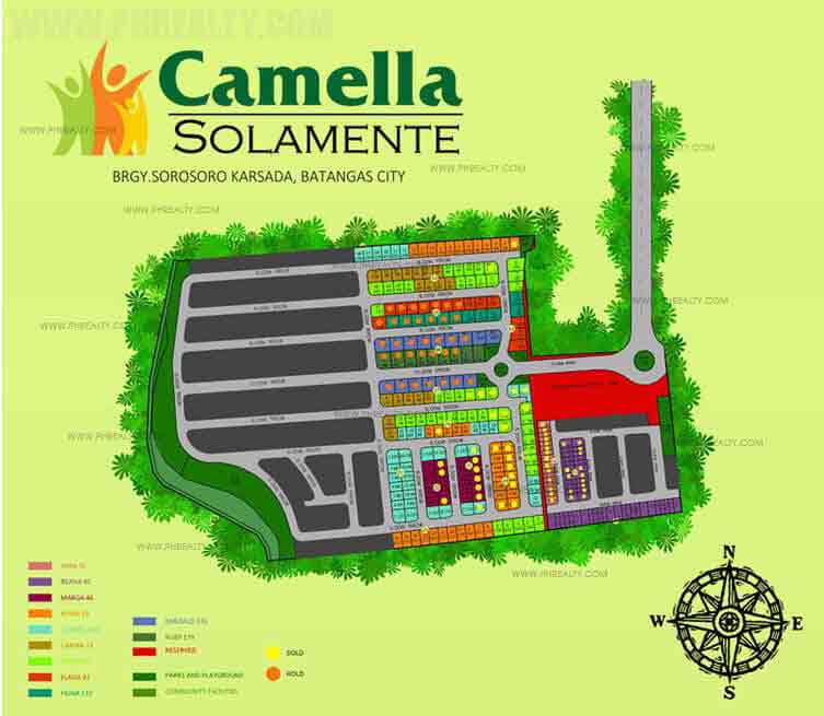 Camella Solamente - Site Development Plan