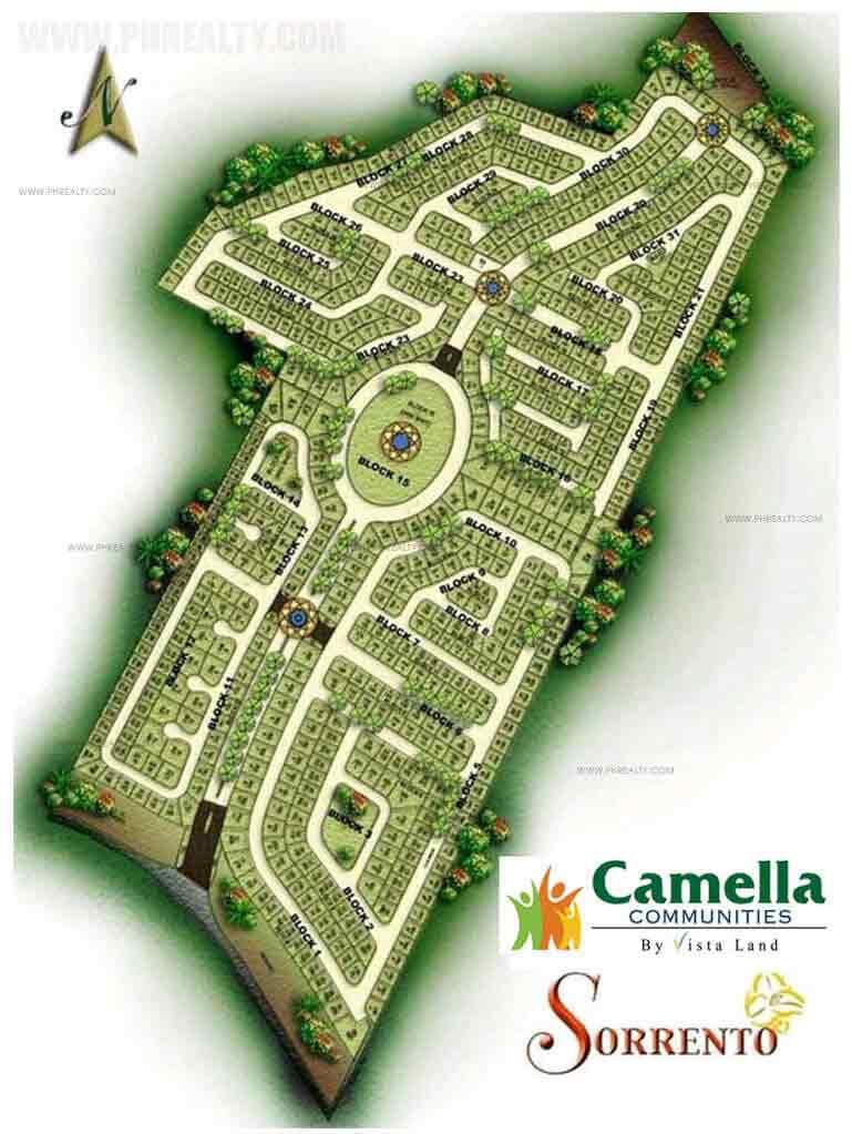 Camella Sorrento - Site Development Plan