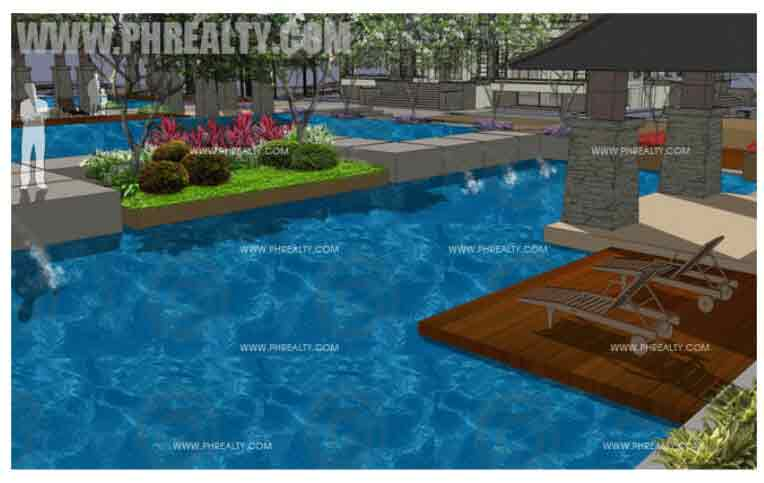 Rhapsody Residences - Lounge Pool