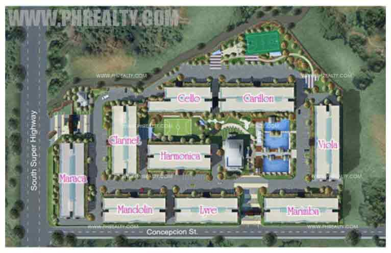 Rhapsody Residences - Site Development Plan