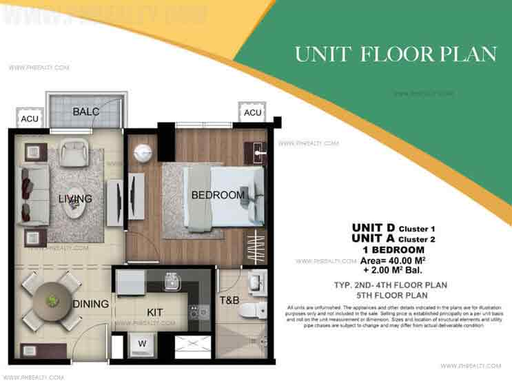 Holland Park - Unit D & A 1 Bedroom