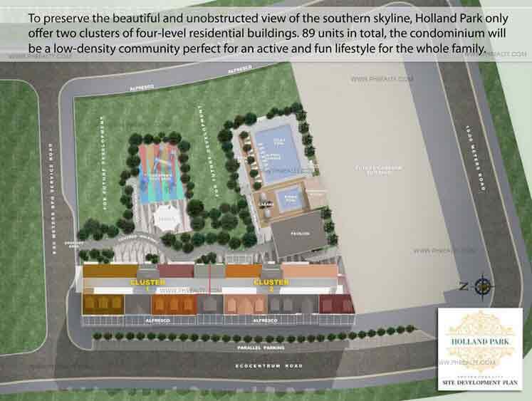 Holland Park - Site Development Plan