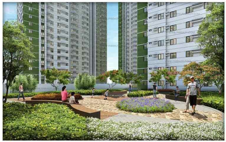 Avida Towers Riala - Courtyard