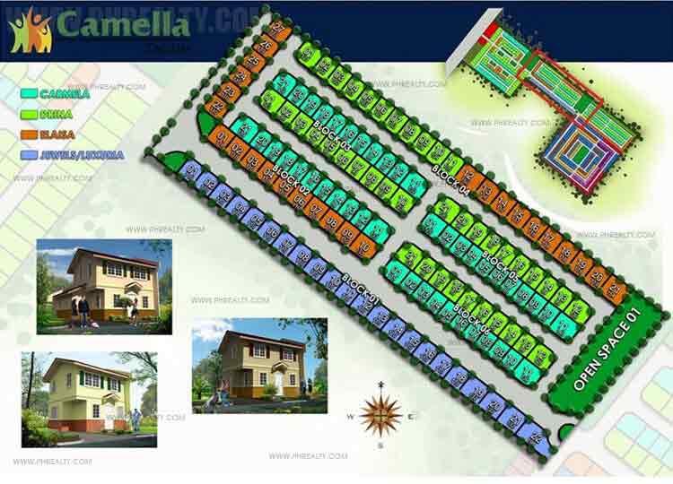 Camella Tagum - Site Development Plan