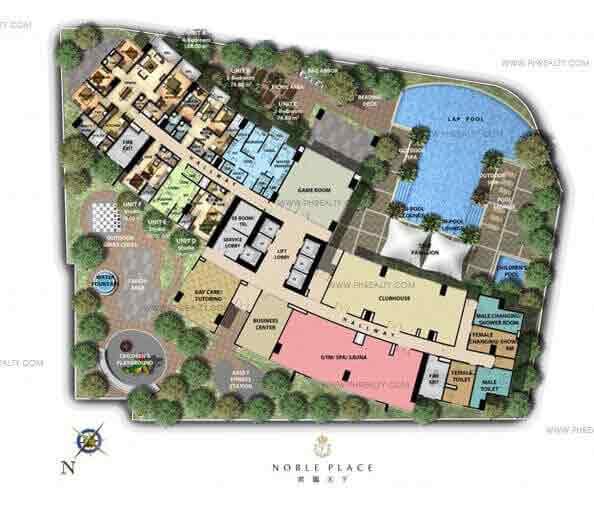 Noble Place - Building Plan