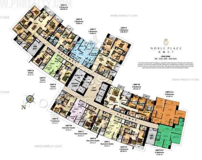 Noble Place - Floor Plan