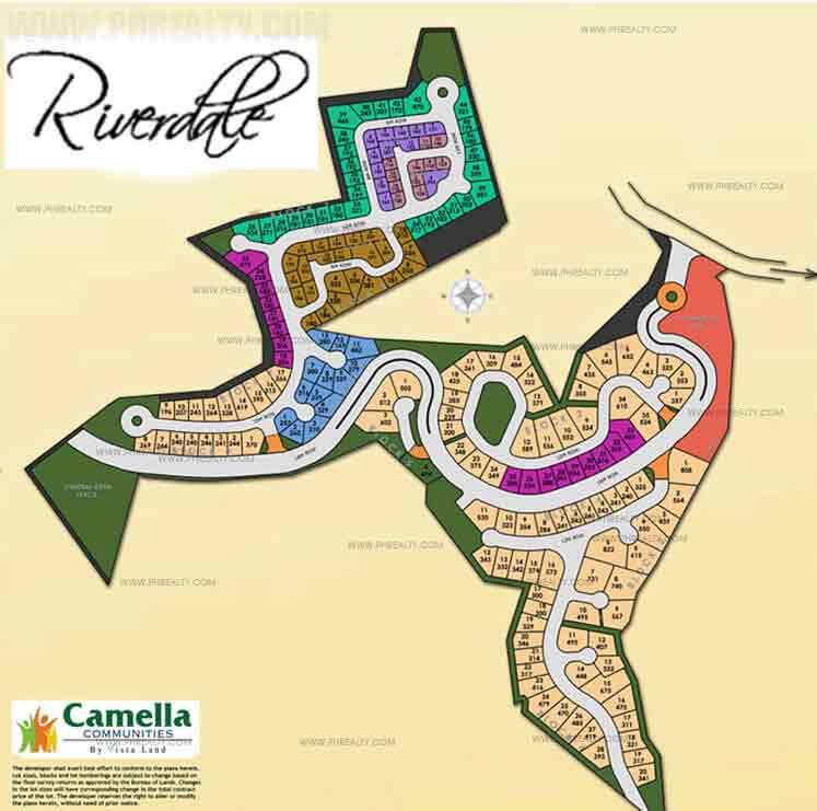Camella Riverdale - Site Development Plan