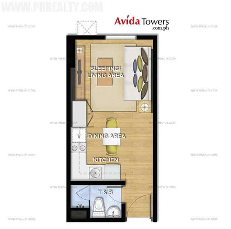 Avida Towers San Lorenzo - Studio Unit