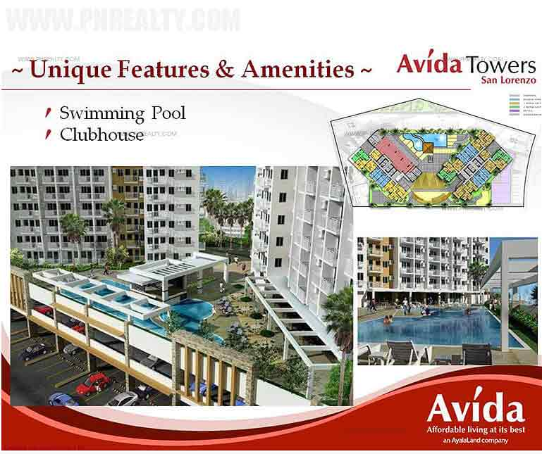 Avida Towers San Lorenzo - Swimming Pool & Clubhouse