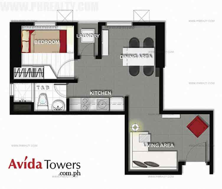Avida Towers San Lorenzo - 1 Bedroom Unit