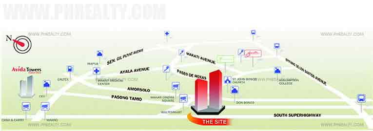 Avida Towers San Lorenzo - Location & Vicinity
