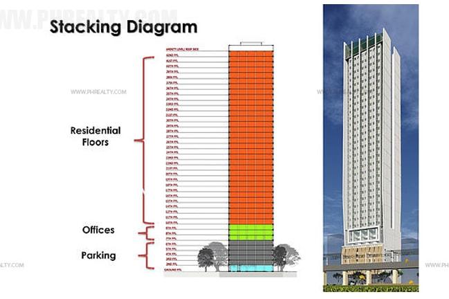Vista Taft 1344 - Building Plan
