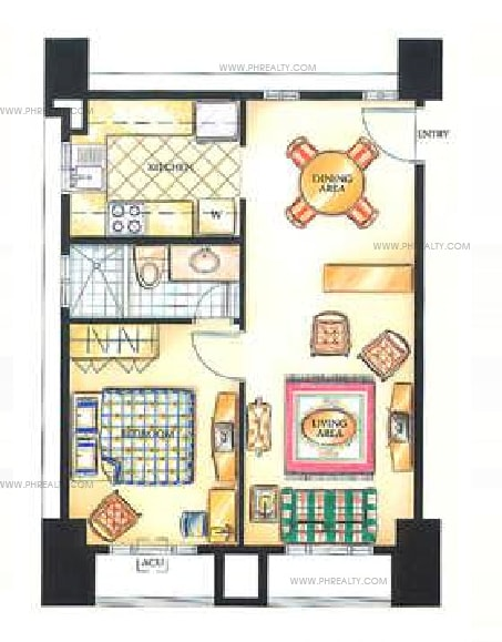 Greenbelt Parkplace - 1 Bedroom
