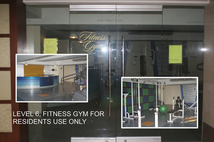 Greenbelt Parkplace - Fitness Gym