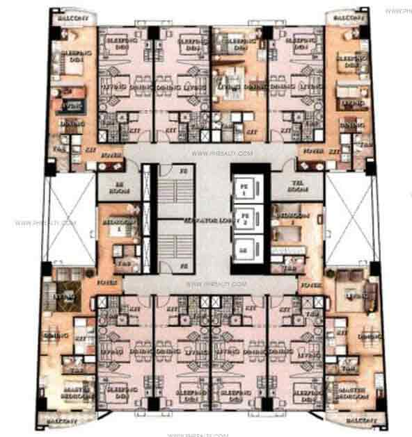 Greenbelt Madisons - Typical Floor Plan