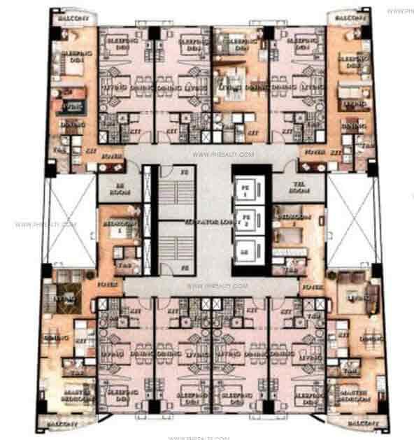 Greenbelt Madisons - Typical Floor Plan