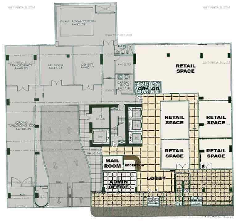 Crown Tower - Ground Floor Plan